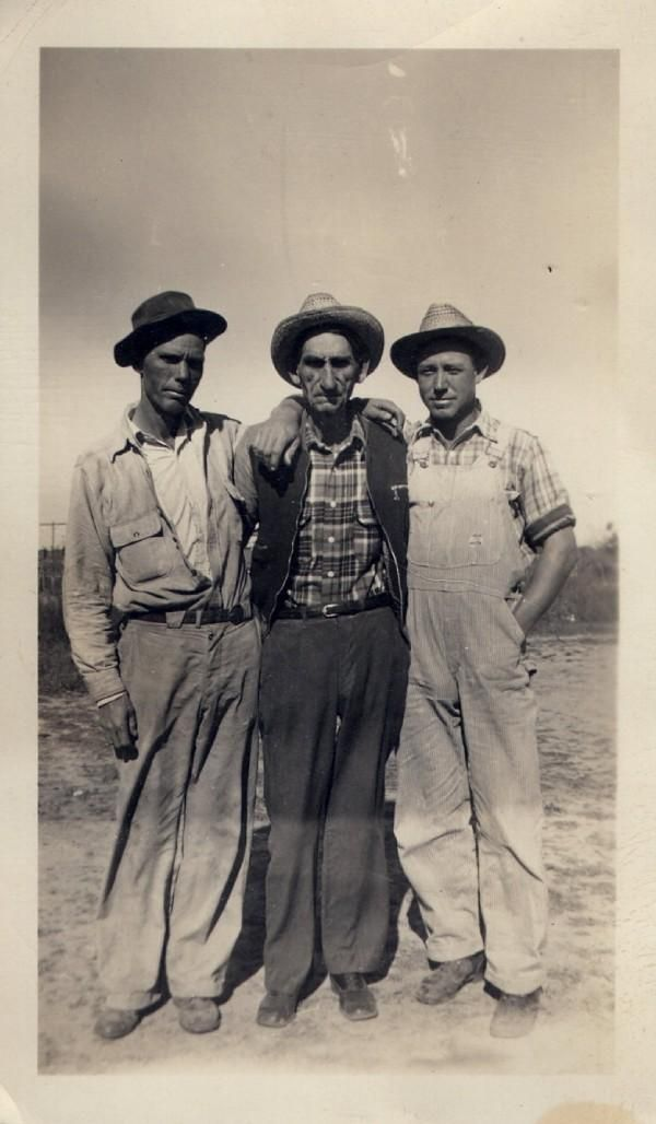 Homer, Frank and Wayne Simmons
