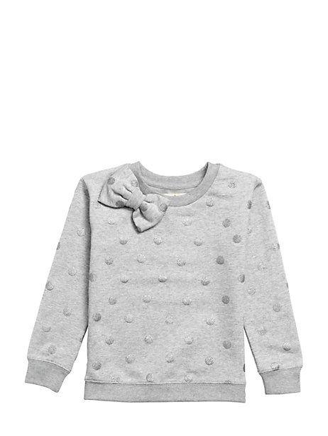 toddlers' dorothy bow sweatshirt