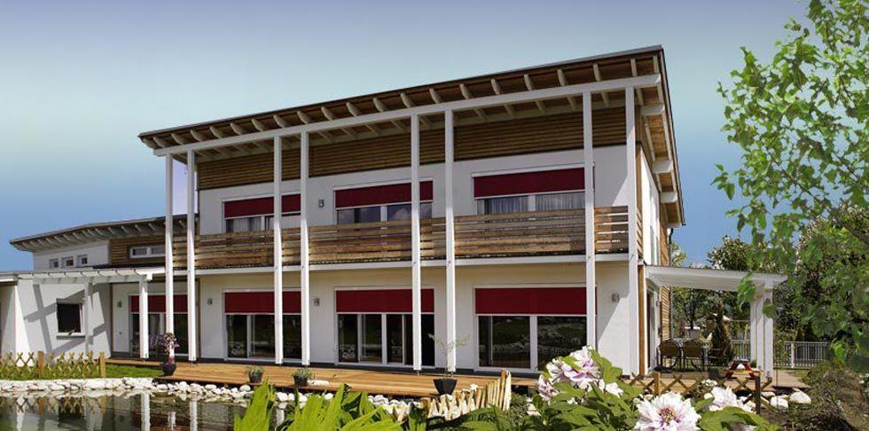 Fertighaus mit Pultdach - 10 Haus und Wohnideen von Griffner   Fertighaus, Fertighäuser und Holzhäuser