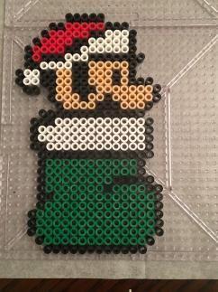 Super Mario Perler Bead Christmas Ornaments | basteln | Bügelperlen ...