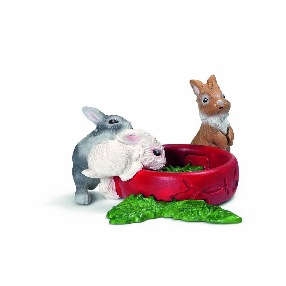 Miniature Dollhouse Fairy Garden Baby Rabbits New In Home