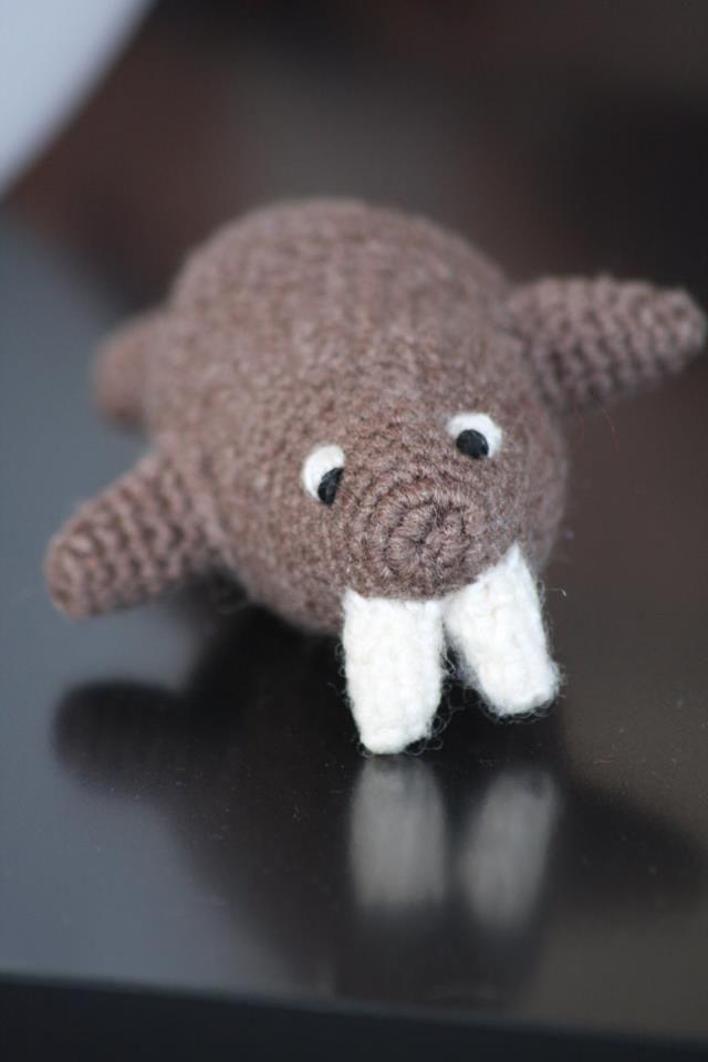 Crocheted Walrus Things I Made Pinterest Crochet Crocheted