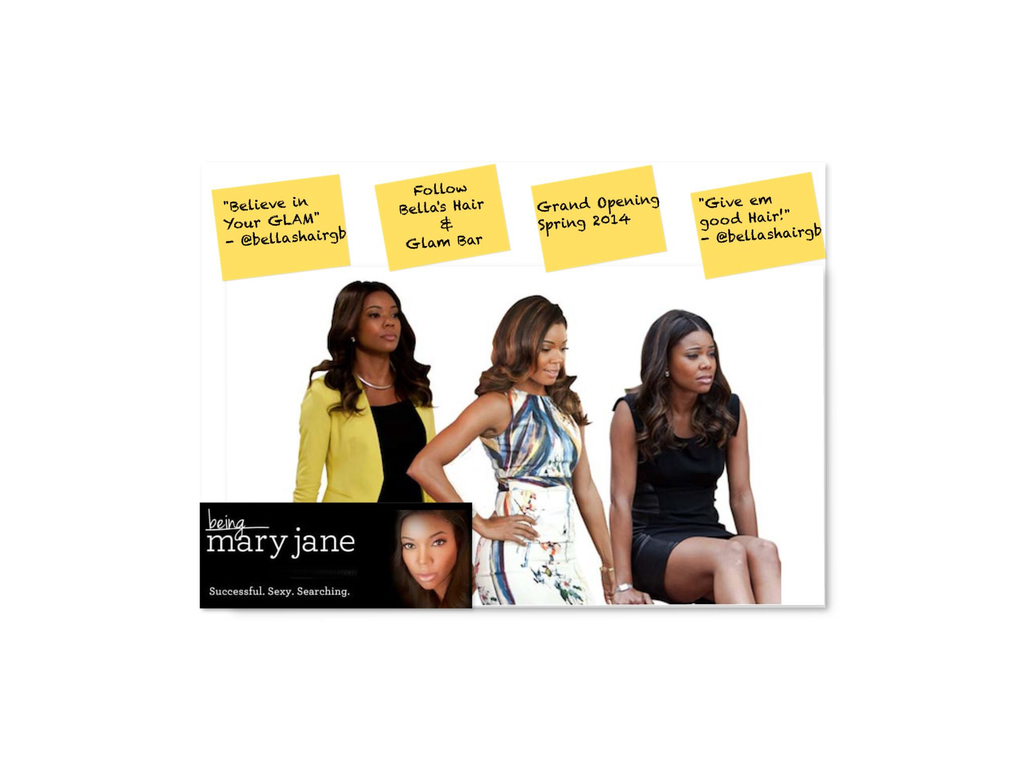 BET's hit show Being Mary Jane airs it's season finale tonight. Watch Mary Jane Paul definitely gives good hair!!!