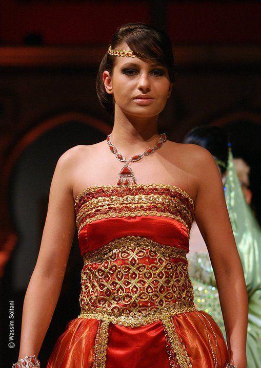 Robe kabyle moderne takchita soiree mariee