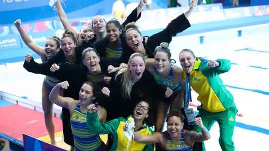 Apos 28 Anos Brasil Bate Os Eua Na Decisao E Conquista Ouro No Basquete Feminino Polo Aquatico Basquete Feminino Jogos Panamericanos
