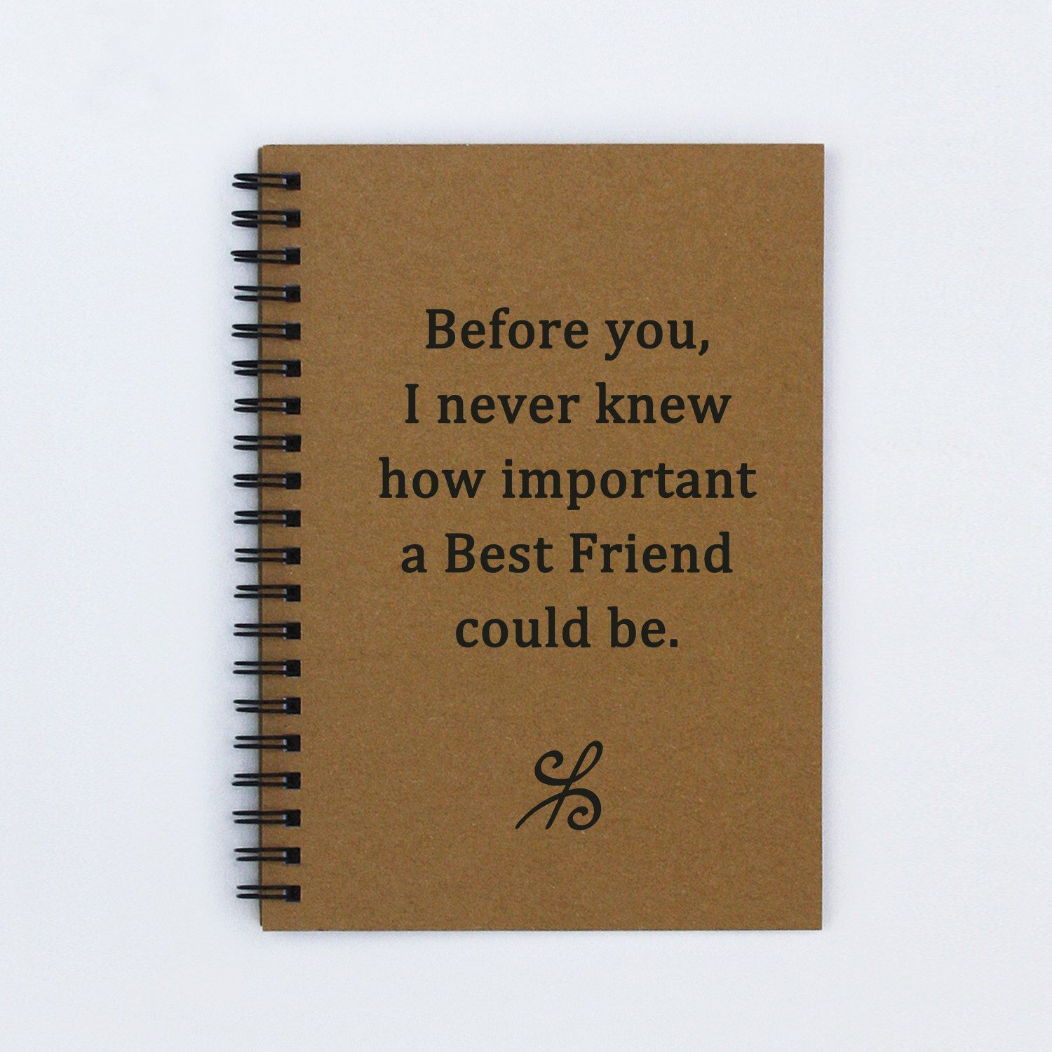 Scrapbook ideas for bff - Best Friend Journal Before You I Never Knew How Important A Best Friend Could Be 5 X 7 Journal Notebook Diary Scrapbook Book