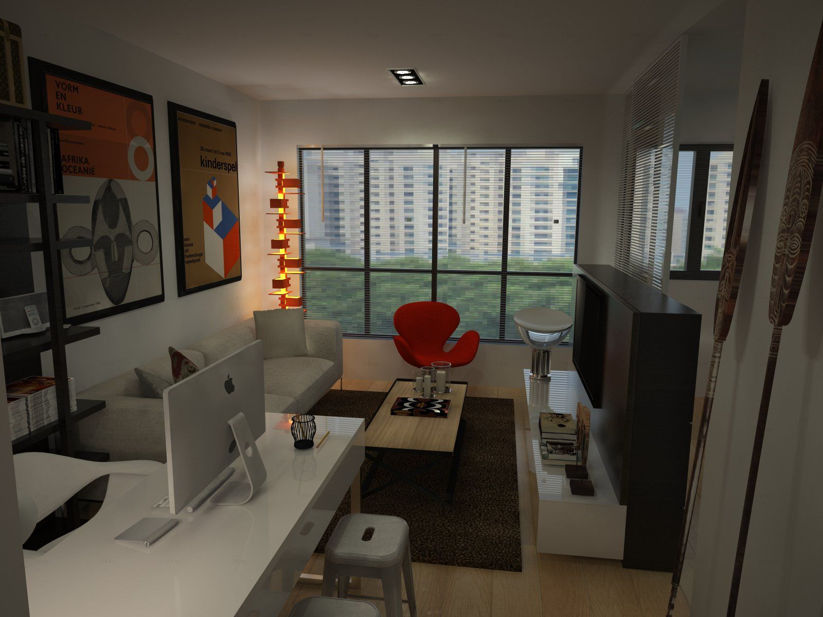 Hdb bto for singles 2 room 47sqm hdb apartment in sengkang rieverview walk 3d interior design Hdb home interior design ideas