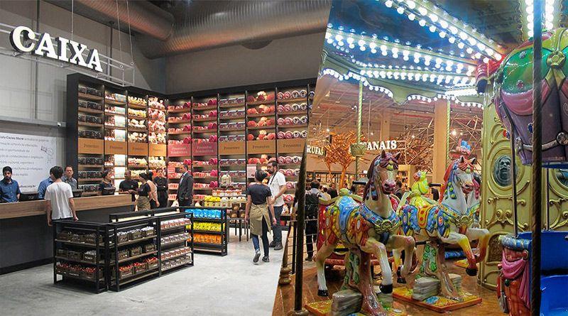 25343ffcaa7 Cacau Show inaugura mega loja com parque de diversões do chocolate ...