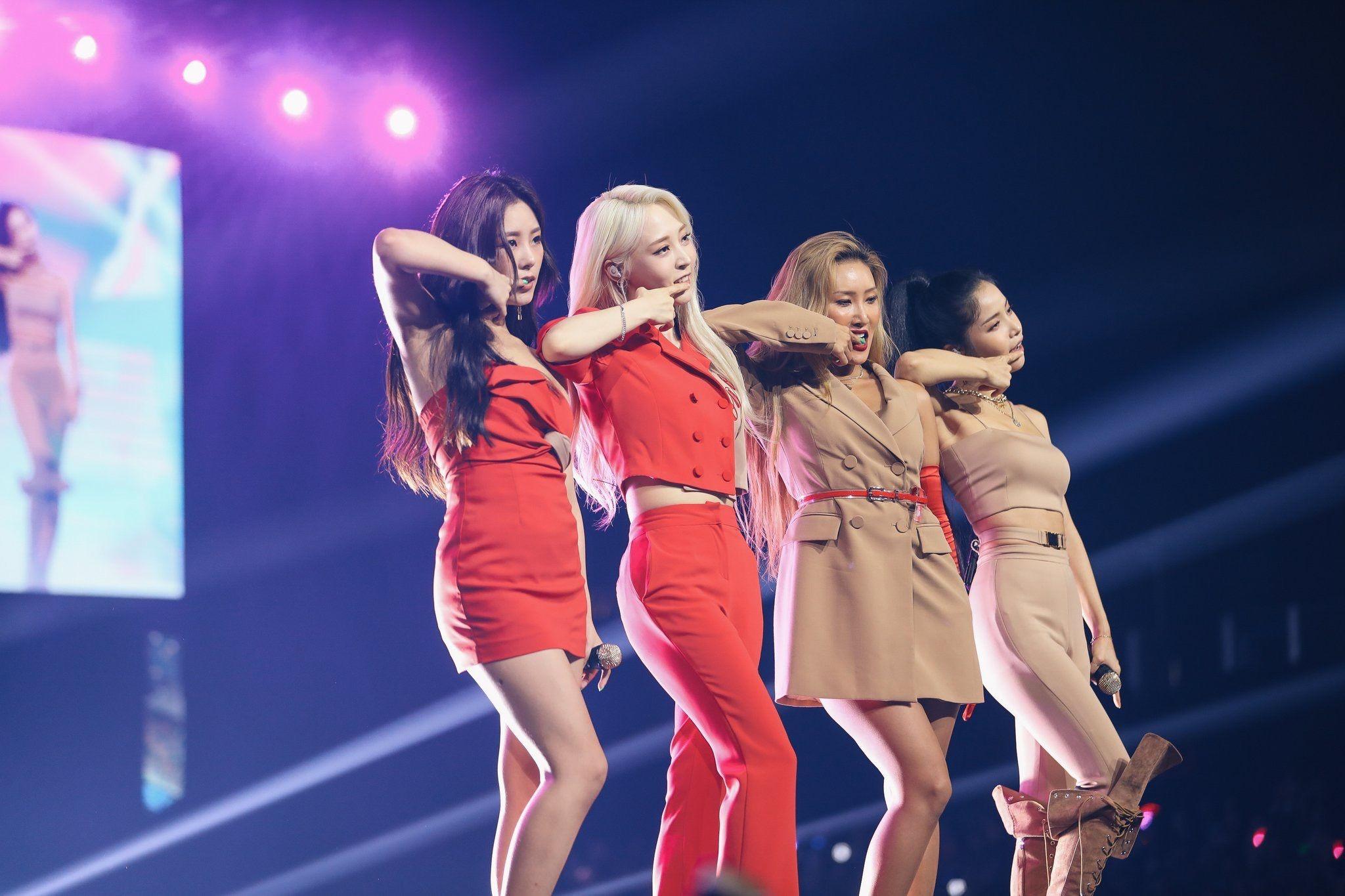 Mamamoo (SBS Super Concert in Hongkong. July 2019)