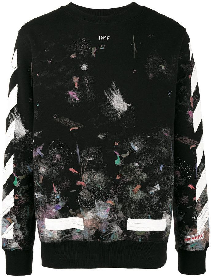 544 Off-White Galaxy brushed print sweatshirt. Nice!  affiliate ... 4a4243903