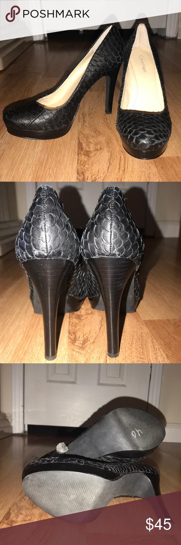 e9559e00ac8 Calvin Klein 4 Inch Heels Pumps