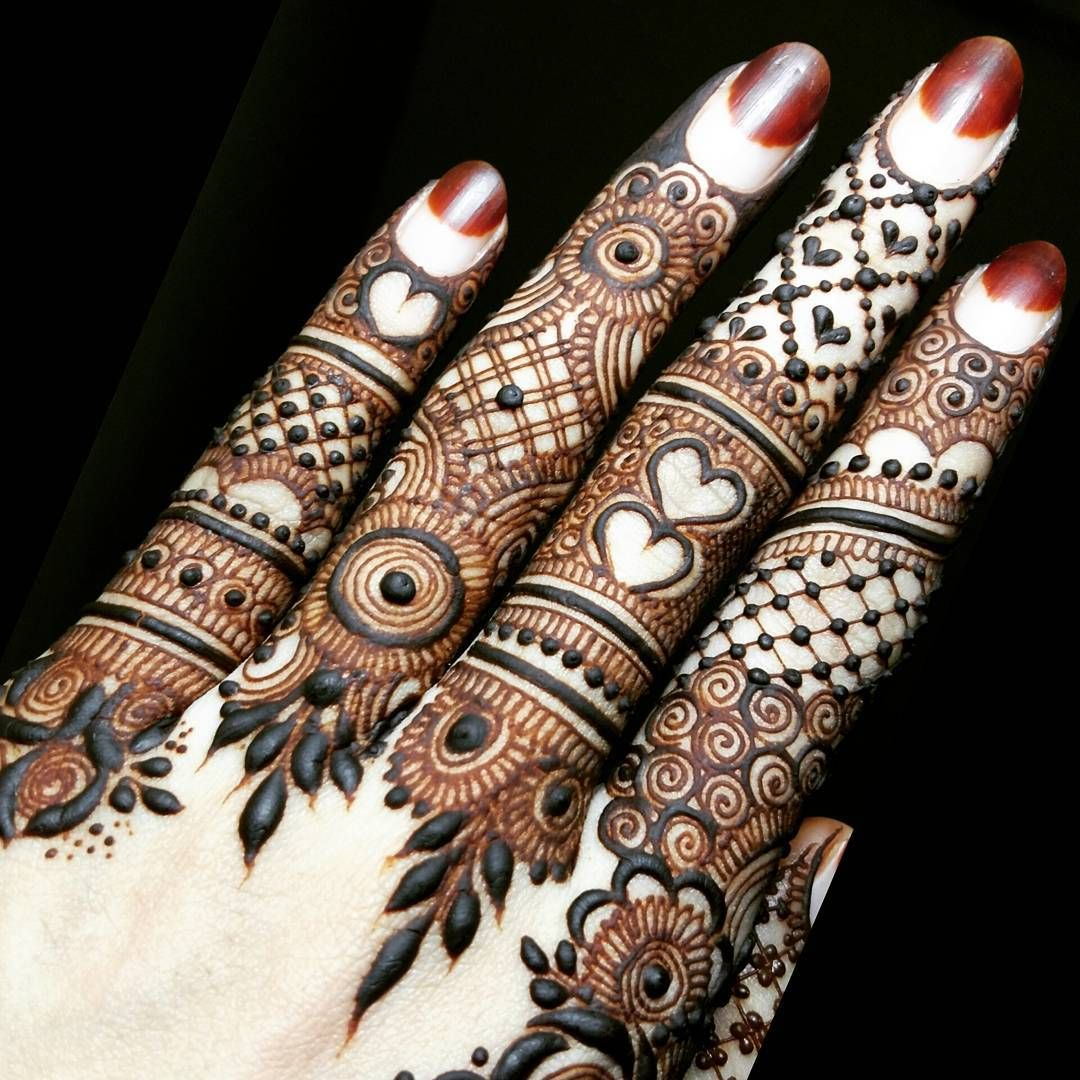 Best Henna Designs: 15 Best Henna Fingers Mehndi Designs
