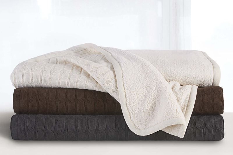"""What Is A Throw Blanket Mesmerizing Dkny Sherpa Throw Blanket 50""""x70""""  Donnakaranhome  Misc Decorating Inspiration"""