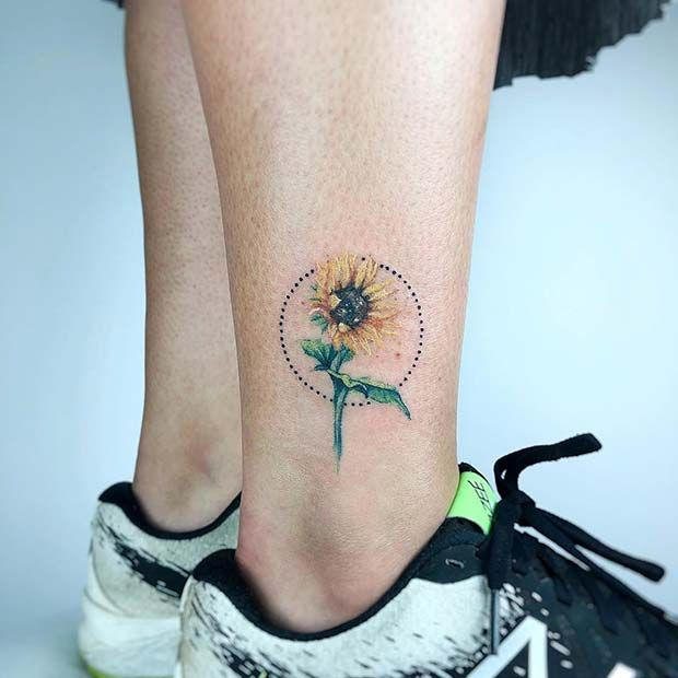 Photo of 61 Pretty Sunflower Tattoo Ideas to Copy Now | Page 2 of 6 | StayGlam