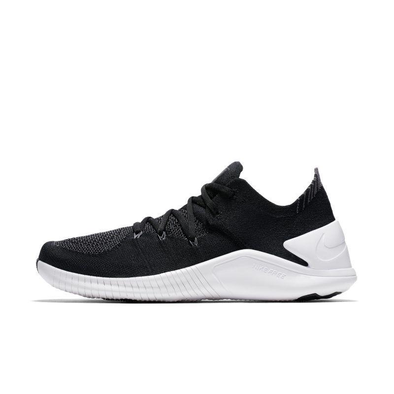 0b0717ef02ff2 Nike Free TR Flyknit 3 Women s Gym HIIT Cross Training Shoe - Black ...