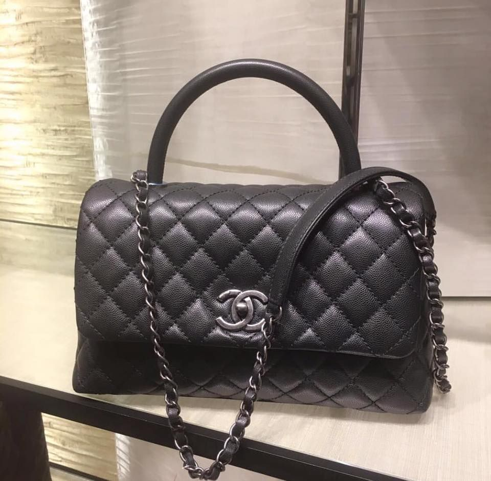 f7d1b0178821bb CHANEL Coco Handle Bag | Coco Chanel | Channel bags handbags, Chanel ...