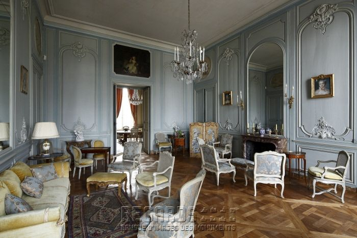 Chateau De La Motte Tilly London Living Room Chateaux Interiors French Style Homes