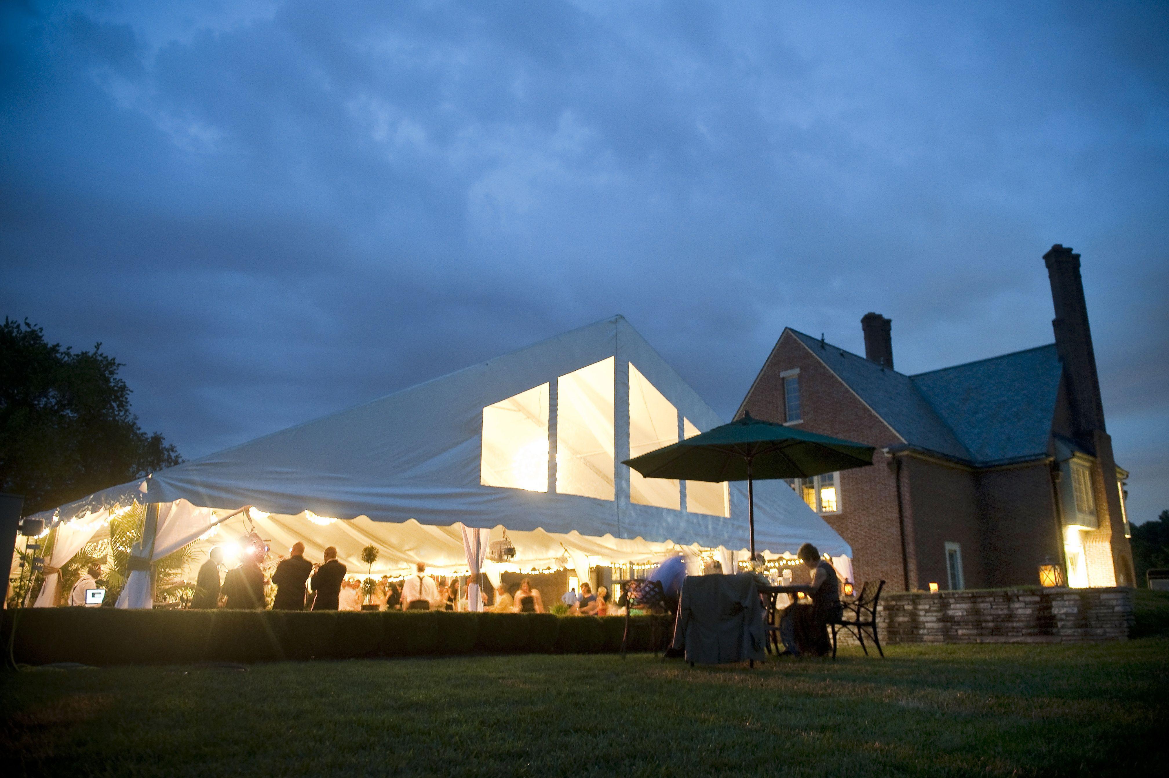 Reception On The Farm Rowland Farm Knoxville Tn Tent