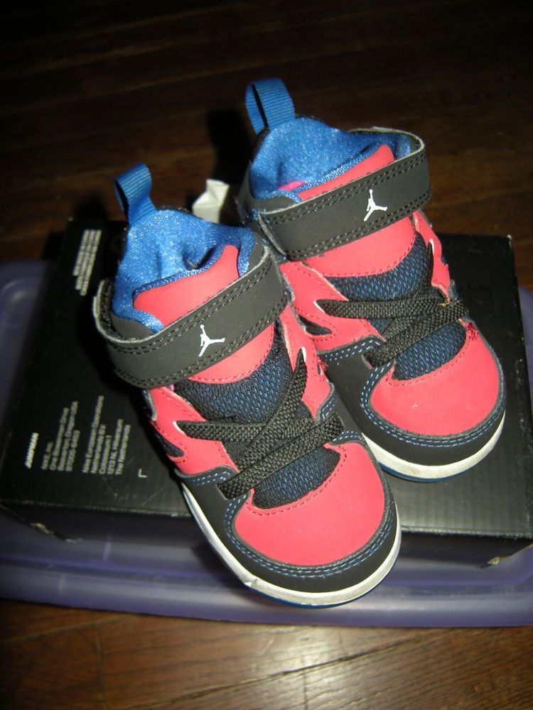 promo code fbd9a 0ebee Nike Air Jordan Flight Club 91 Toddler Shoes Size 5C, Red ...