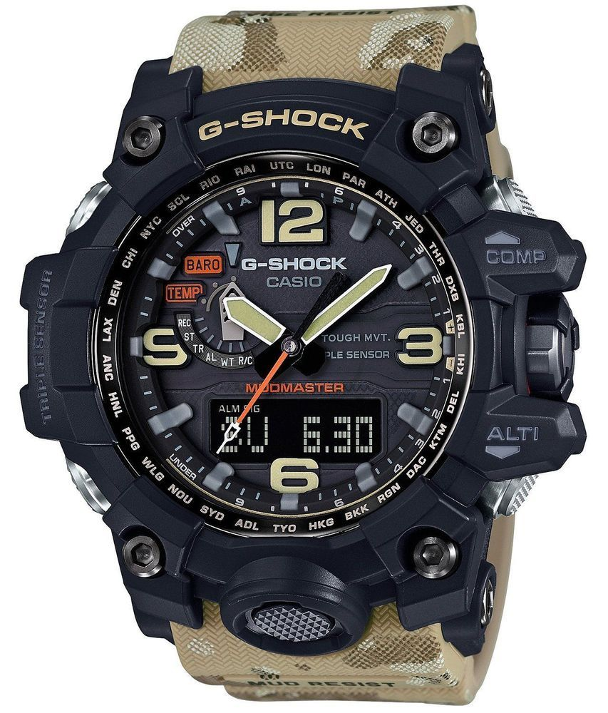 3f173247dca CASIO G-SHOCK GWG-1000DC-1A5DR Master in Desert Camouflage Outdoor Mens   Watch  Casio
