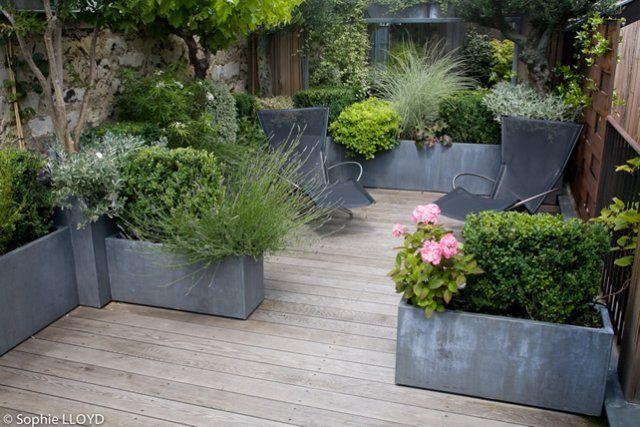 terrasse pour petits espaces christian fournet paysagiste conception cr ation entretien. Black Bedroom Furniture Sets. Home Design Ideas