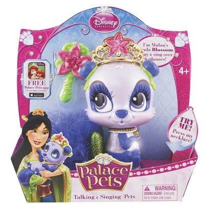 Disney Princess Palace Pets Talking Singing Target