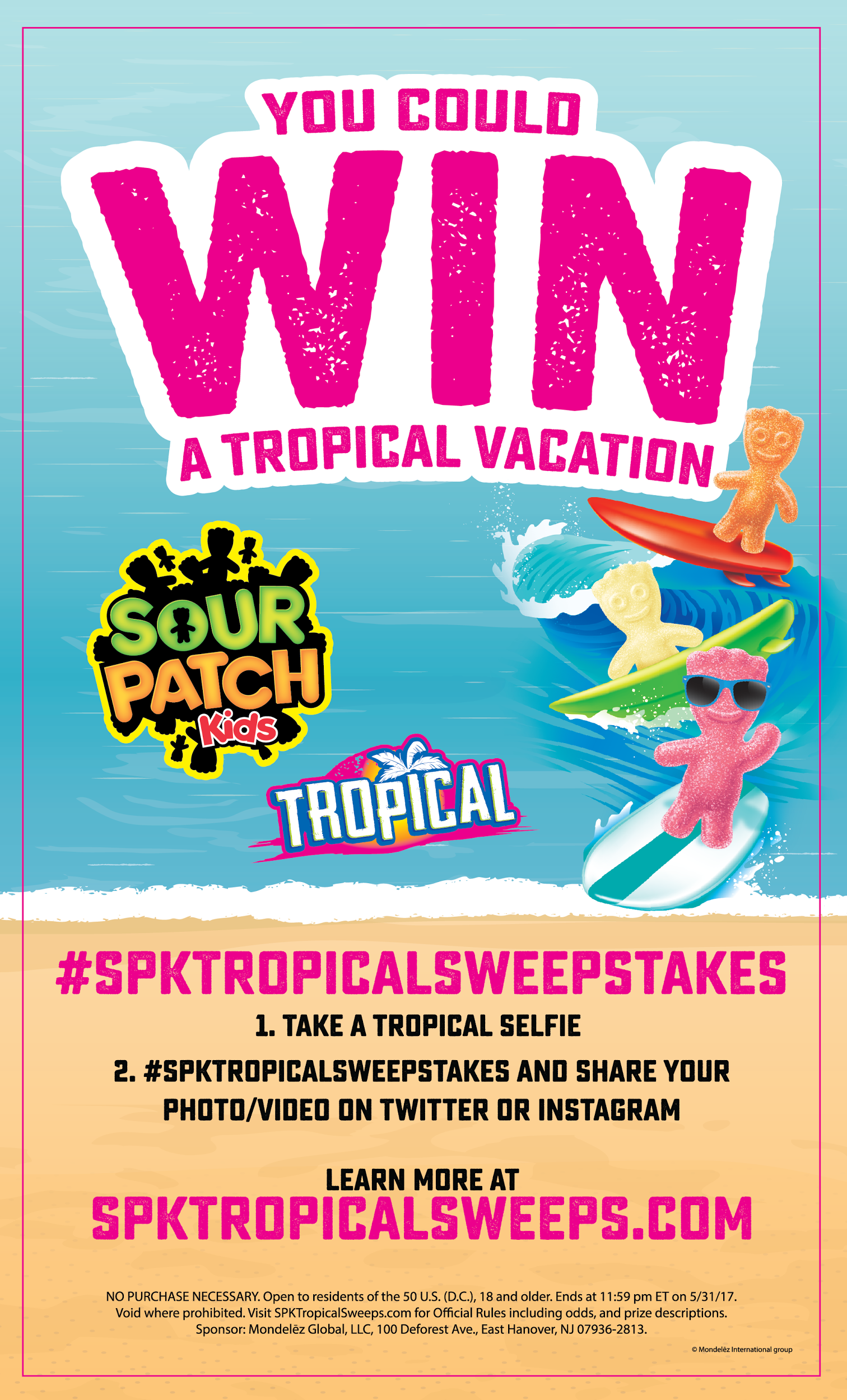 Win Big At Walmart By Purchasing Tropical Sour Patch Kids Find Out More Here Now Spktropicalsweepstakes Ad Sour Patch Kids Sour Patch Tropical Vacation