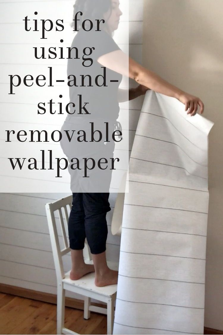 Peel Stick Wallpaper How My First Project With It Turned Out Your Questions Answered Driven By Decor Peel And Stick Wallpaper Driven By Decor Diy Door