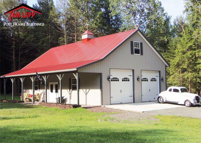 Residential polebarn building in madisonville for Residential barns