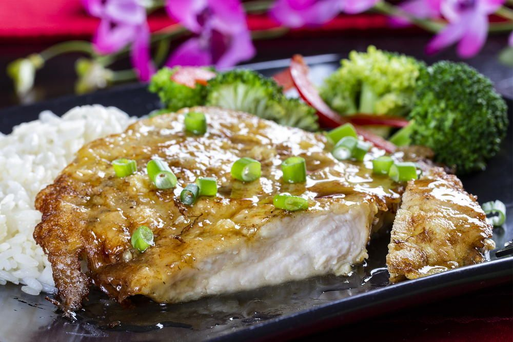 Asian Honey Garlic Chicken Recipe Mr Food Pinterest Asian