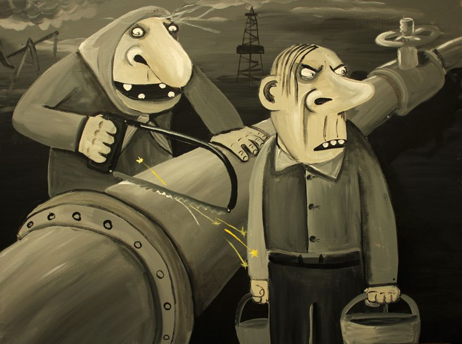"""ФСБ России расследует как """"диверсию"""" повреждение газопроводов и ЛЭП в оккупированном Крыму - Цензор.НЕТ 4919"""