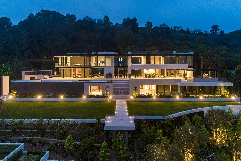 A 188 Million Modern Spec Home In Bel Air California Homes