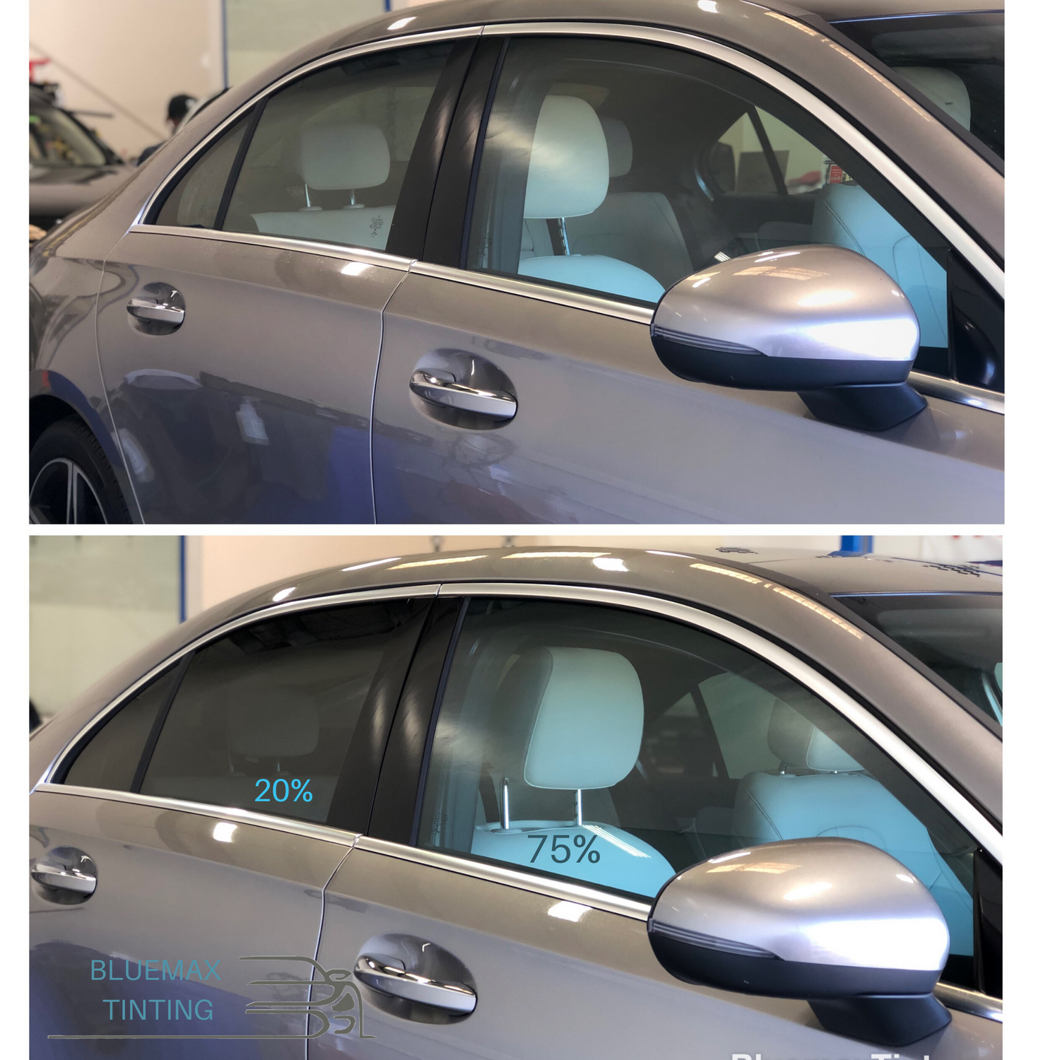 Before And After Window Tinting Tinted Windows Windows Tints