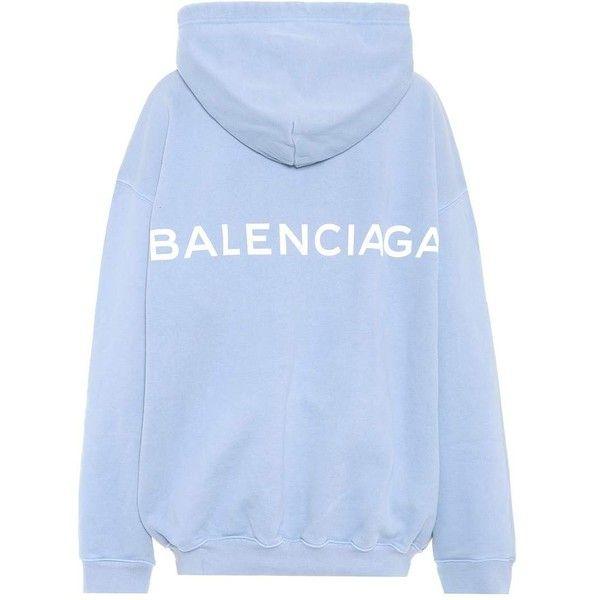 balenciaga hoodie womens navy