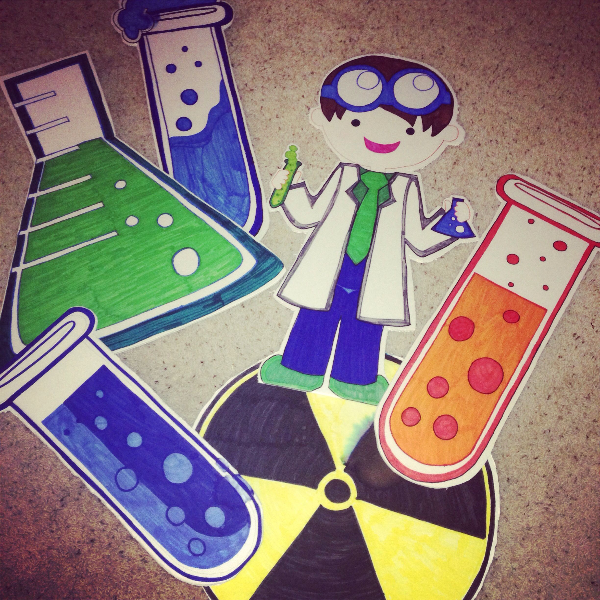 Mad Science Decorations Lawn Signs Cient Atilde Shy Ficos