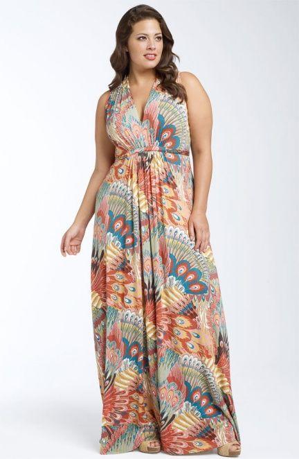 Comprar vestido longo para gordas