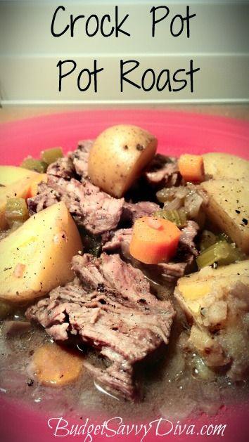 Crock Pot – Pot Roast Recipe