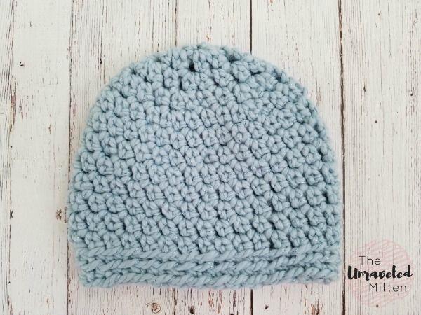 The Maggie Beanie Free Easy Crochet Pattern Babygirl Pinterest