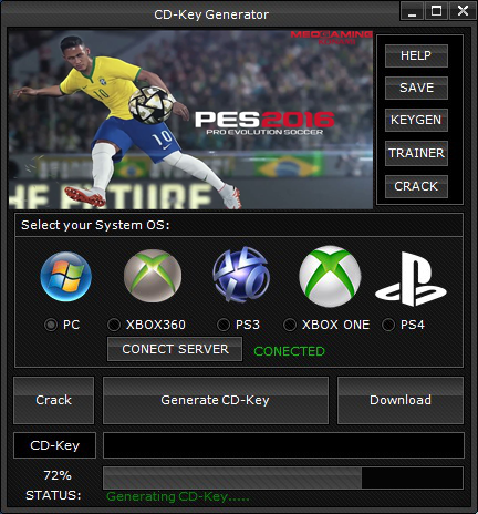 Cd key pes 2016 free download
