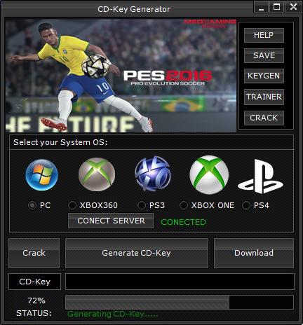 Cd key pes 2016 free download