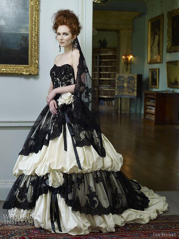 Ian Stuart Wedding Dress 2012 — Killer Queen Bridal Collection ...