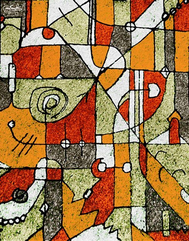 Composición a 4 tonos. by Daniel Ferreira-Leites