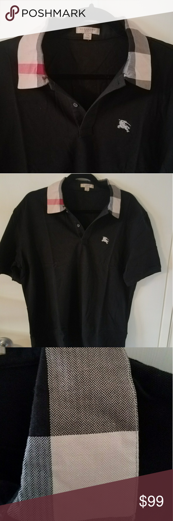 b7ee33808 100% Authentic Burberry Brit polo Shirt XL NEW 100% Authentic Burberry Brit  polo Shirt