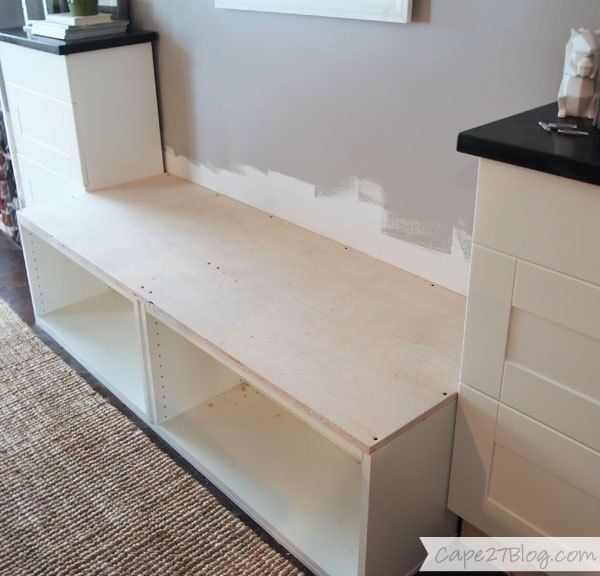 Building A Banquette Bench: DIY Built-in Banquette Seat