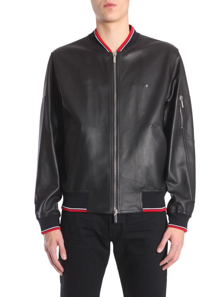 Best Price On The Market At Italist Dior Homme Dior Homme Leather Bomber Jacket Leather Bomber Jacket Bomber Jacket Leather Bomber [ 1040 x 780 Pixel ]