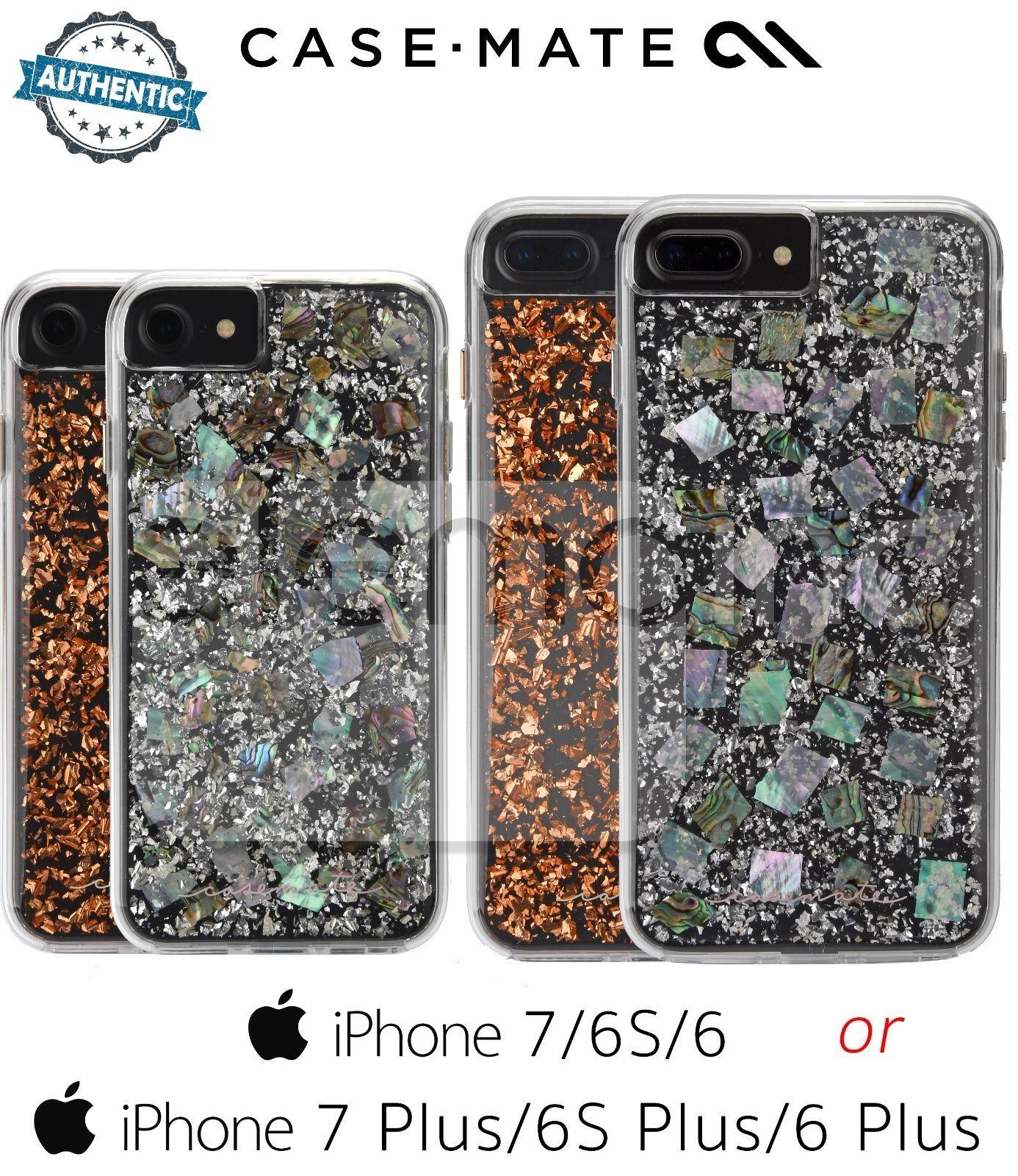 Case mate premium karat series dual case for apple iphone
