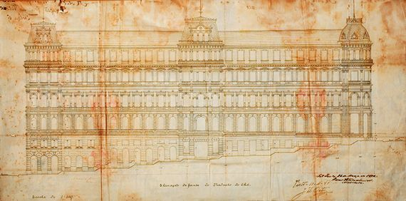 PROJETO DO HOTEL METROPOLITANO, 1894