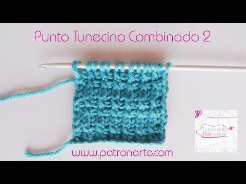 8) Tunisian Crochet Mix Stitch 2 - YouTube | Crochet Patterns ...