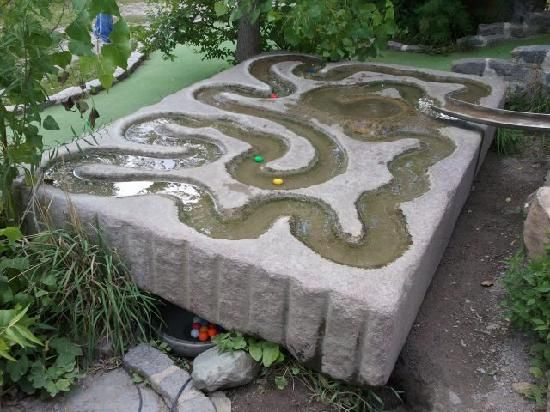 Big Stone Mini Golf And Sculpture Garden Places To Take