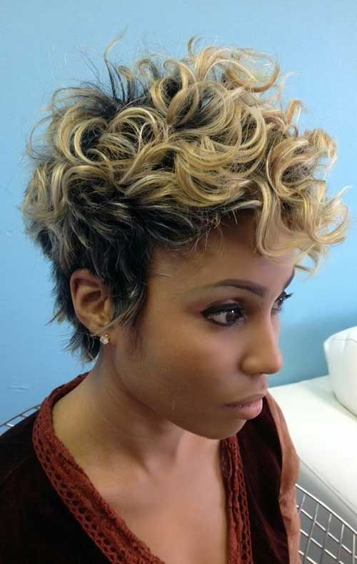Short Curly Hairstyles 2015 20 Cute Short Haircuts For Curly Hair  Short Haircuts Haircuts And